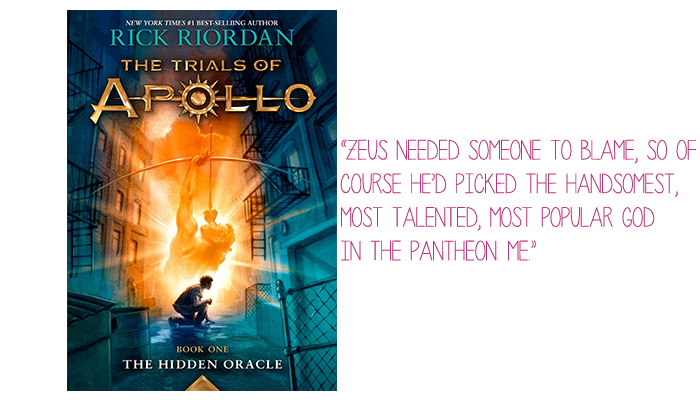 Resenha: The Hidden Oracle (The Trials of Apollo #1), Rick Riordan