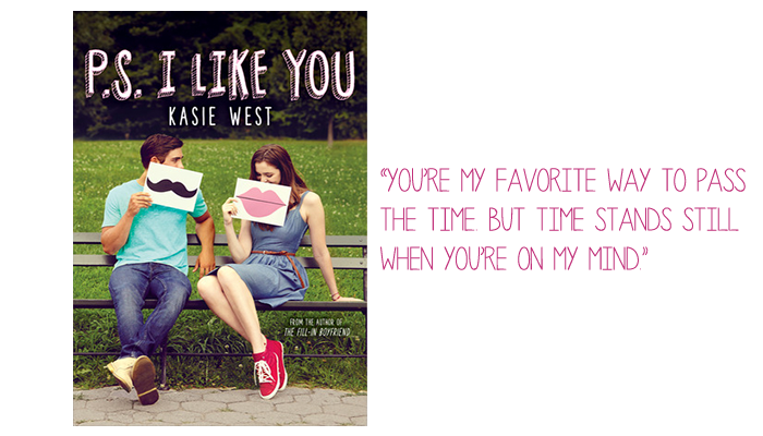 Resenha: P.S. I Like You, Kasie West