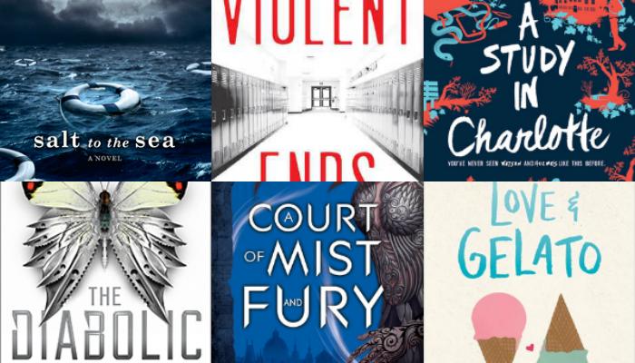 Os livros favoritos da Flavia em2016