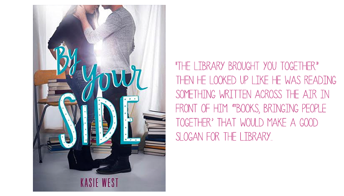 Resenha: By Your Side, Kasie West