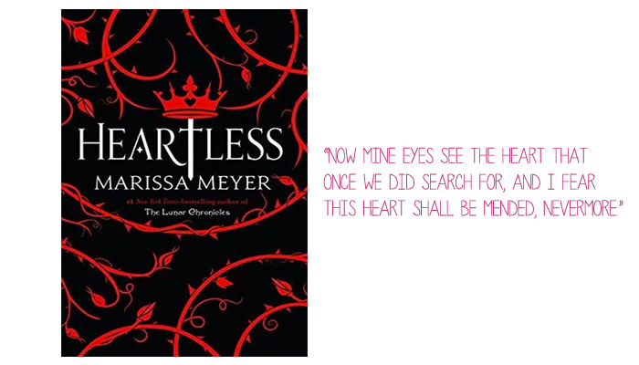 Resenha: Heartless, Marissa Meyer
