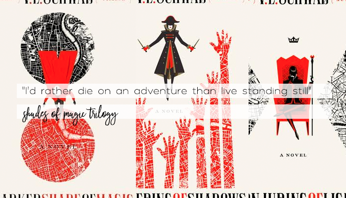 Resenha: Shades of Magic, V.E. Schwab