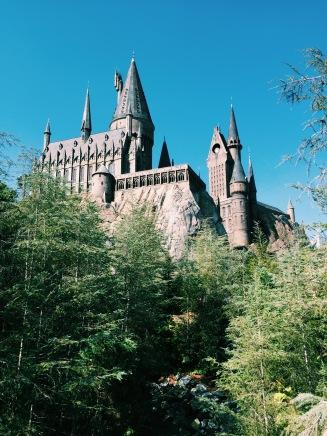 Hogwarts sendo linda