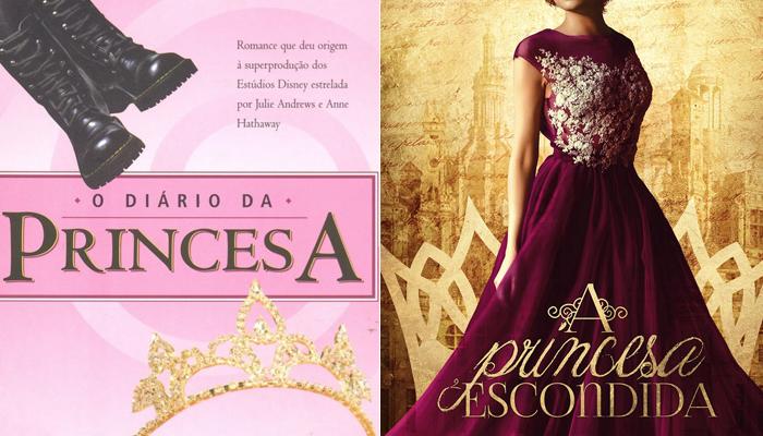 Se você gostou de O Diário da Princesa, vai gostar de A PrincesaEscondida